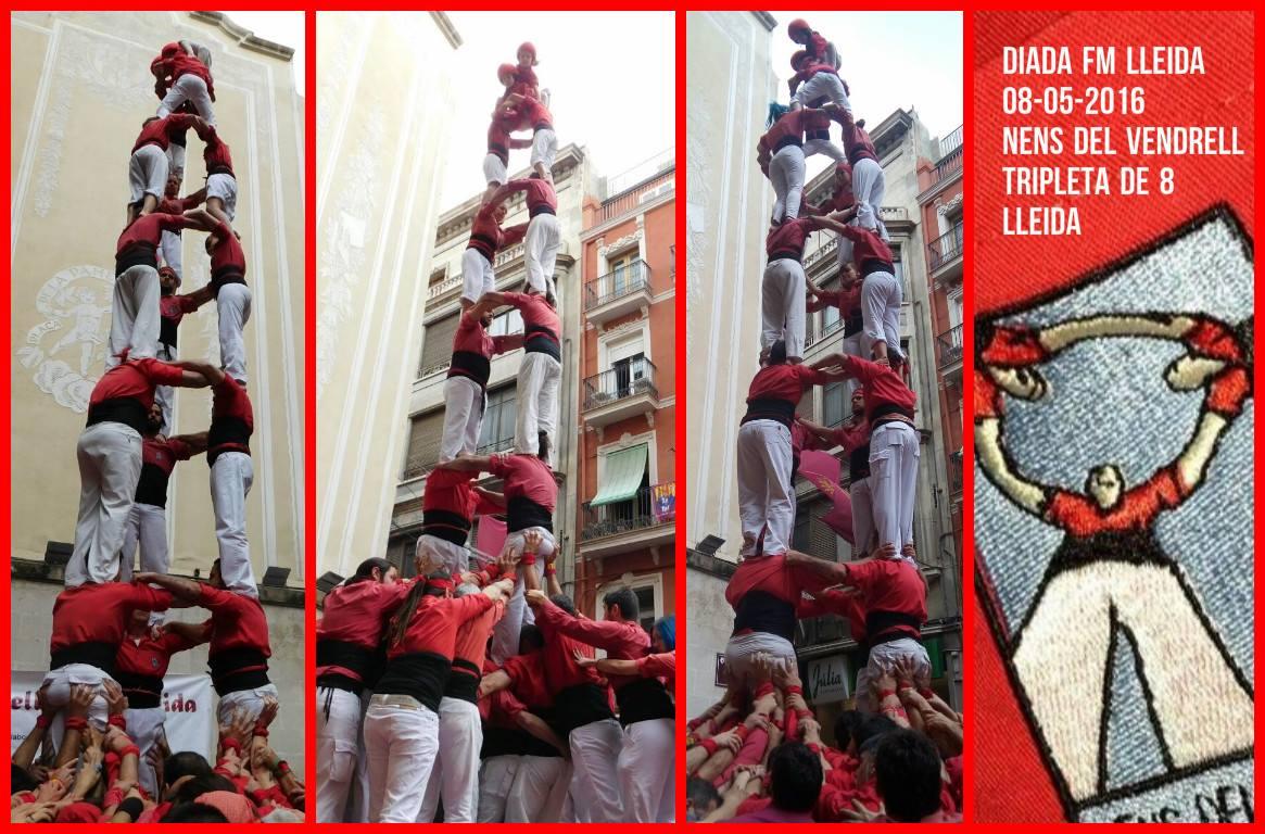 Diada de festa major de Lleida 2016 - Nens del Vendrell