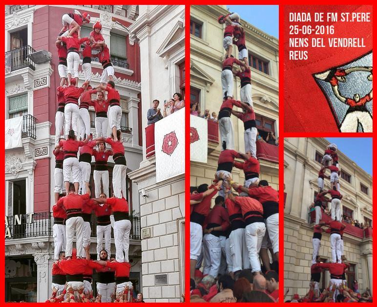 Diada de Sant Pere a Reus, Nens del Vendrell