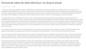 Comunicat drets televisius